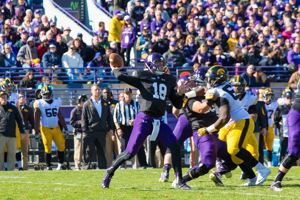 Luke Vogelzang/The Daily Northwestern