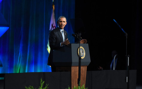 Obama urges federal support for police at law enforcement conference in Chicago