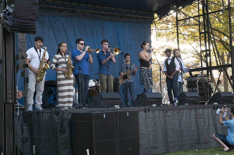 The Syndicate performs at the Deering Days on Sept. 25. The band is in the process of recording a new video album.
