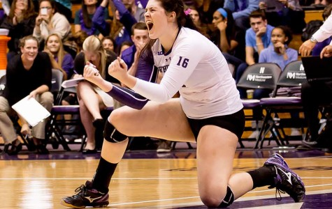 Volleyball: Northwestern topples No. 3 Penn State in thrilling upset