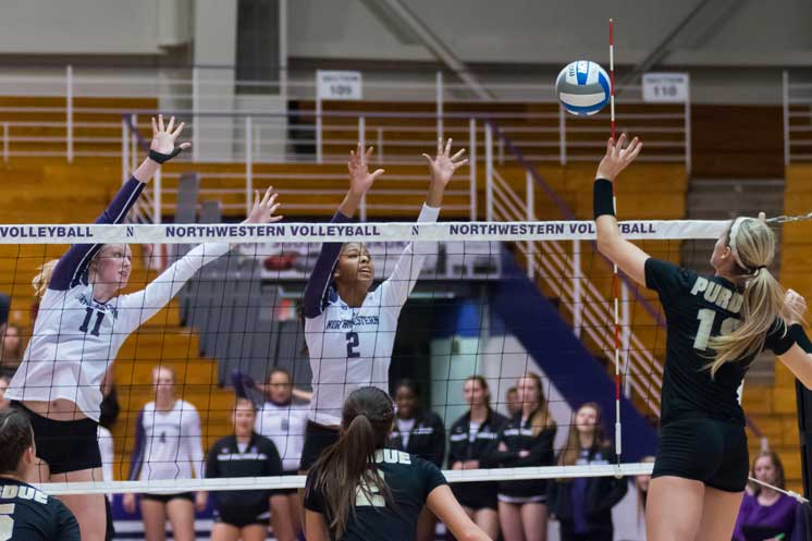 Sophomore hitter Symone Abbott and the rest of the Northwestern offense struggled mightily against Minnesota, snapping their five game win streak. Abbott finished with more errors than kills for only the third time in her career.