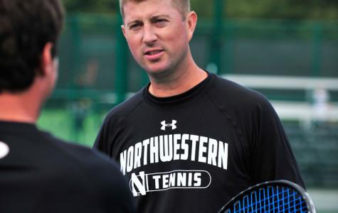 Men's Tennis: Konrad Zieba faces major challenge at National Indoor Championships