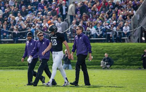 Football: Thorson good to go for Northwestern heading into Senior Week