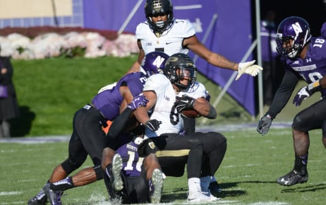 Football: Wildcats edge Boilermakers in sloppy senior day battle