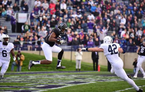 Football: Justin Jackson, Jack Mitchell lead Northwestern past Penn State