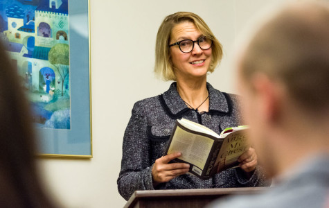 Author, NU alum Leslie Pietrzyk explores grief, loss at reading