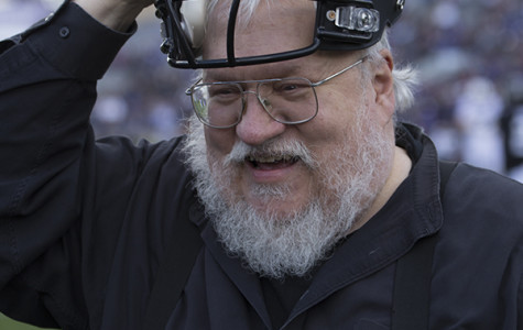 Northwestern honors George R.R. Martin at Penn State game