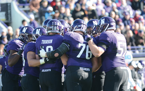 Captured: Northwestern defeats Purdue in 21-14 victory