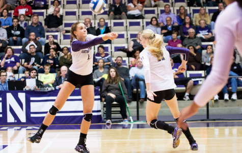 Volleyball: Wildcats look to snap four-match losing streak on the road against Michigan State