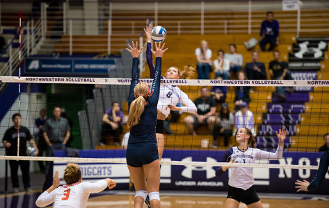 Volleyball: Short-term memory a must for Wildcats in Illinois home-and-home