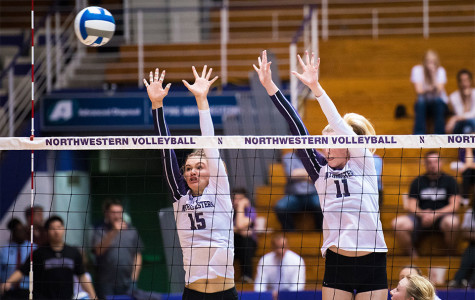 Volleyball: Northwestern sweeps season series against Iowa