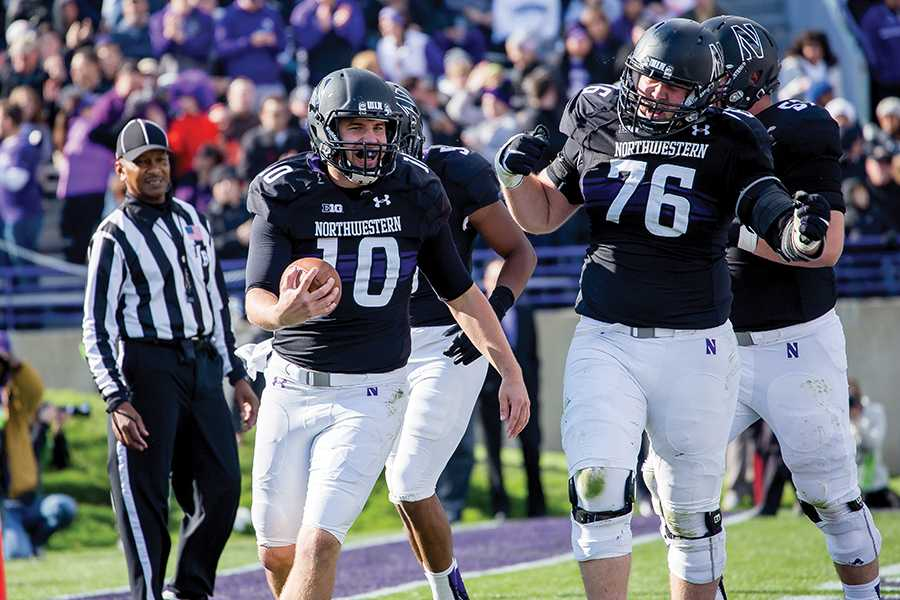 Zack Laurence/The Daily Northwestern