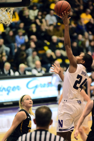 Women's Basketball: With Northwestern in foul trouble, Christen Inman played savior in battle with Loyola