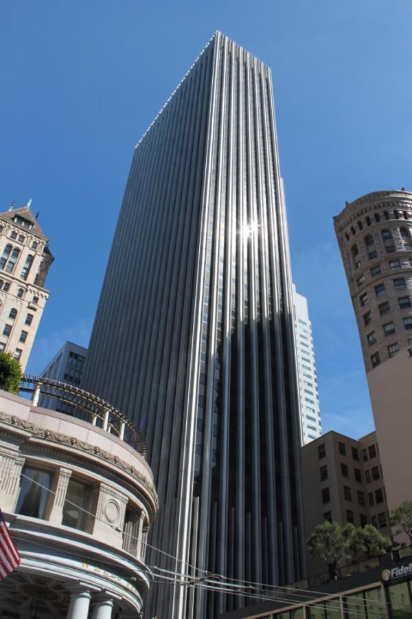 Northwestern's new San Francisco space will be housed at 44 Montgomery St. The building was built in 1966 and was the tallest building west of the Mississippi River until 1969.