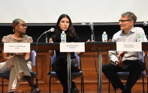 Panelists discuss the power of consumer choices to combat human trafficking