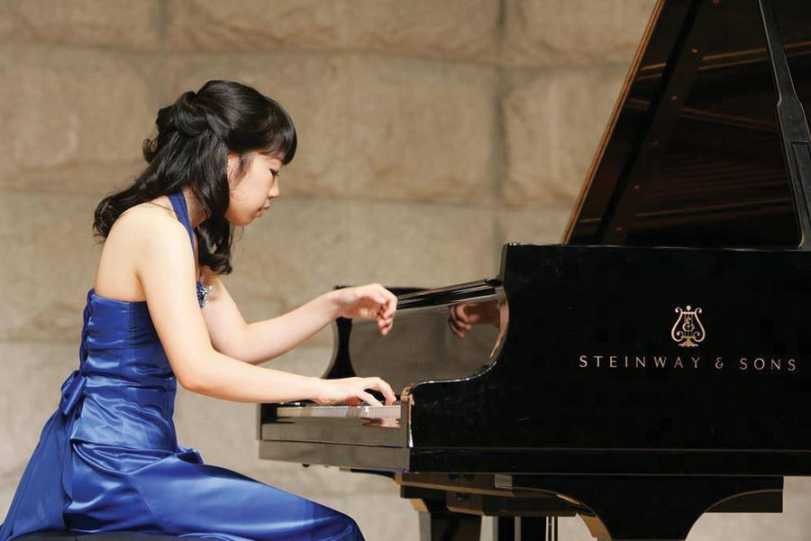 Bienen graduate student Hyejin Joo performs her senior recital in Korea. After winning the Northwestern Concerto/Aria Competition in April, Joo will perform a solo of Chopin's Concerto No. 1 with the NU Symphony Orchestra.