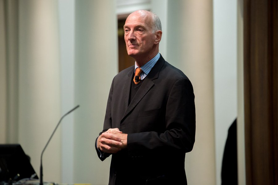 South African Justice Edwin Cameron discusses establishing equality in a post-apartheid society. Cameron spoke as part of a week-long visit to Northwestern.