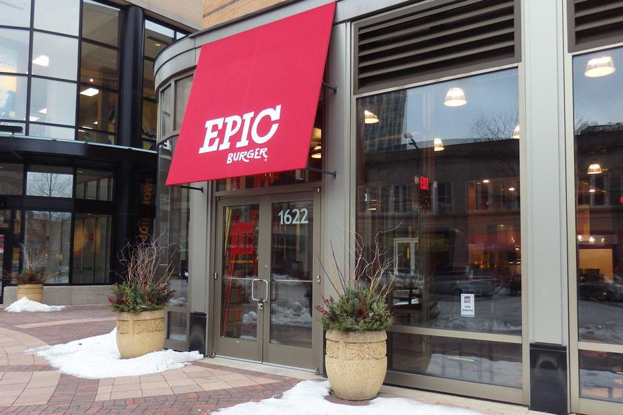 Chicago-area+restaurant+chain%2C+Epic+Burger%2C+will+open+its+eighth+location+this+month+in+Evanston.+The+new+burger+joint%2C+1622+Sherman+Ave.%2C+is+located+a+block+away+from+Edzo%E2%80%99s+Burger+Shop%2C+1571+Sherman+Ave.