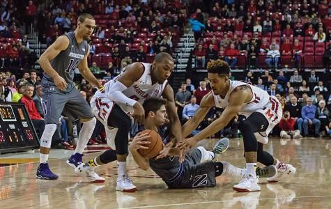 Men's Basketball: Northwestern falls short at Maryland in overtime