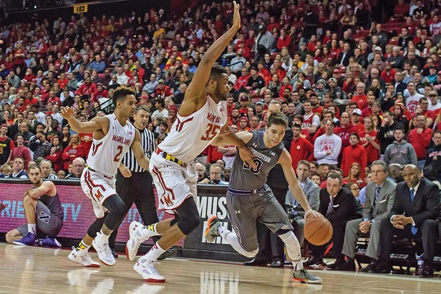 Men's Basketball: Northwestern shows resilience in tight loss to Maryland