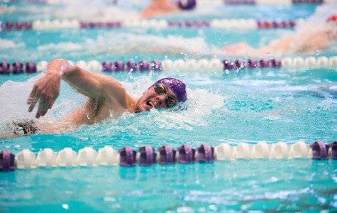 Men's Swimming: Freshmen lead team despite loss to more experienced