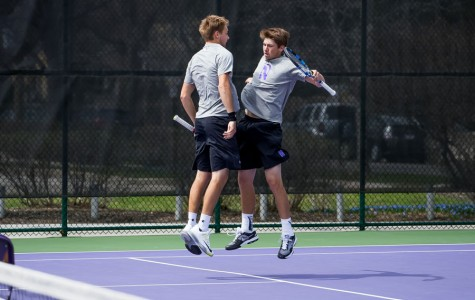 Men's Tennis: Northwestern sweeps weekend doubleheader