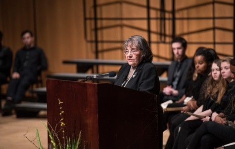 Civil rights leader Diane Nash encourages nonviolent student activism