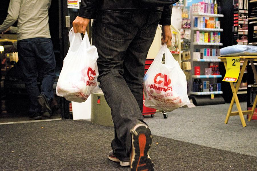 Larger Evanston stores like CVS no longer provide consumers with free disposable plastic bags. The ban was passed in July 2014 and aimed to eliminate plastic bags completely by August 2015.