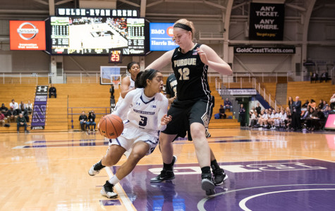 Women's Basketball: Northwestern falls at home to Purdue, 85-71