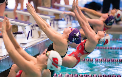 Women's Swimming: Northwestern looks for big upset in last dual meet