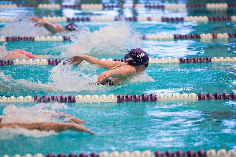Women S Swimming Wildcats Head To Notre Dame Following Big Win