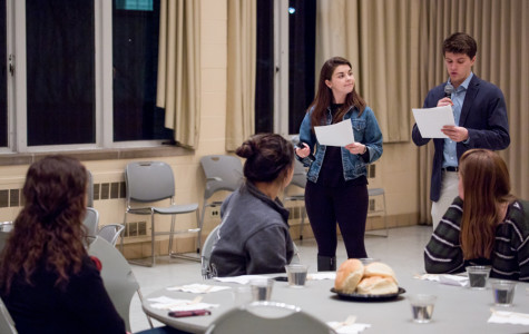 Northwestern students engage in poverty discussions at 'hunger banquet'