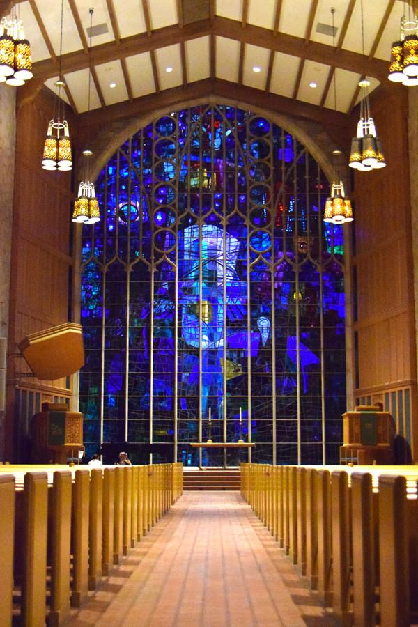 Northwestern's Alice Millar Chapel turns 53 this year. A concert will be held on Sunday in honor of its birthday.