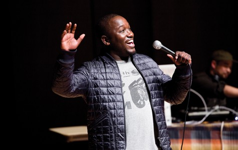 Comedian Hannibal Buress jokes about new Kanye album, Trump at Saturday show