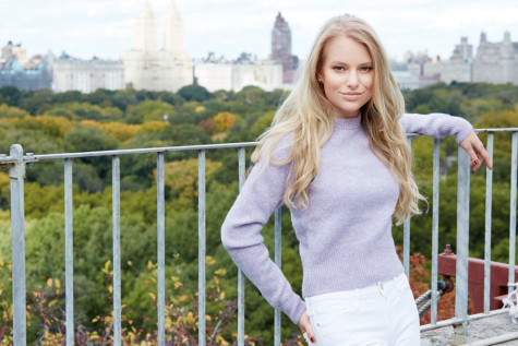 Northwestern student walks in New York Fashion Week