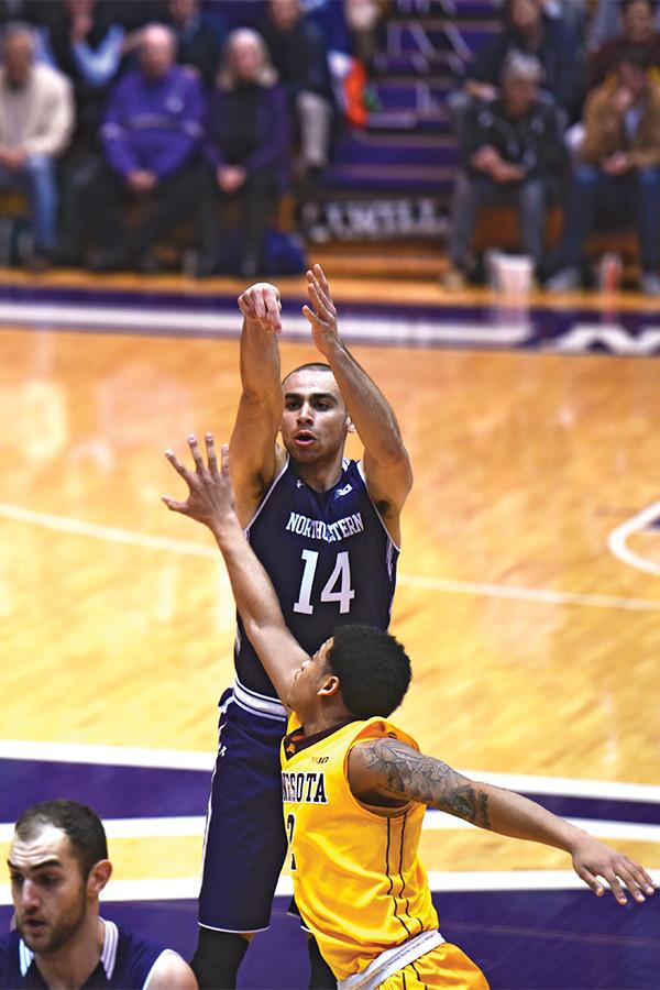 Tre Demps takes a jump shot. One game after setting a career-high in points, the senior guard continued his hot play on Thursday, dropping 23.