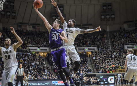 Men's Basketball: Northwestern fades late in physical contest at No. 17 Purdue