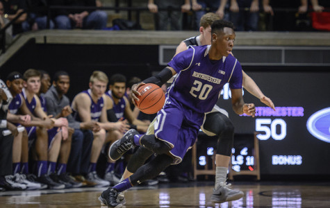 Men's Basketball: Foul trouble dooms Wildcats in loss to Purdue
