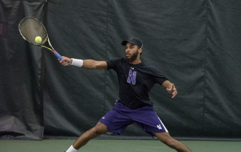 Men's Tennis: Northwestern's win streak up to eight after 3-0 weekend