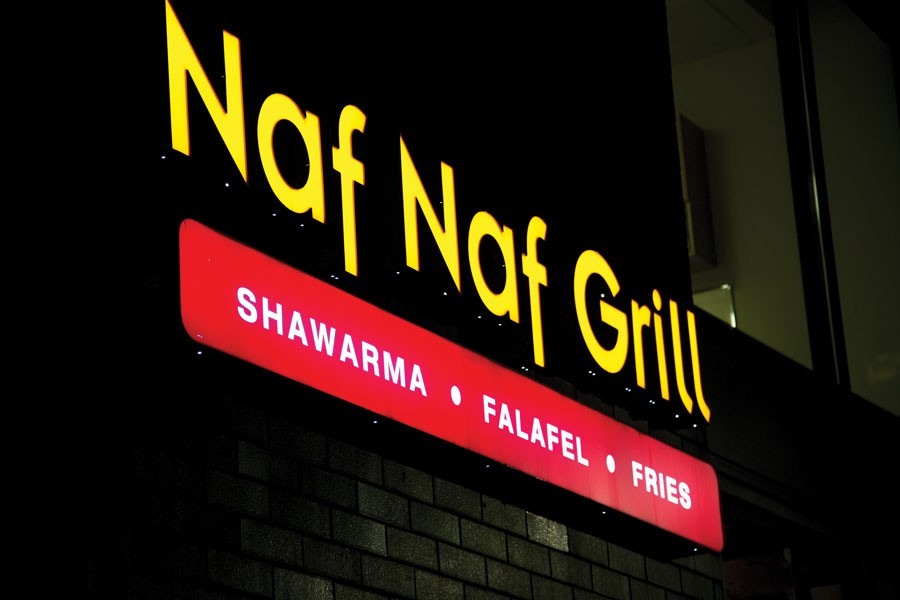Best Mediterranean: Naf Naf Grill