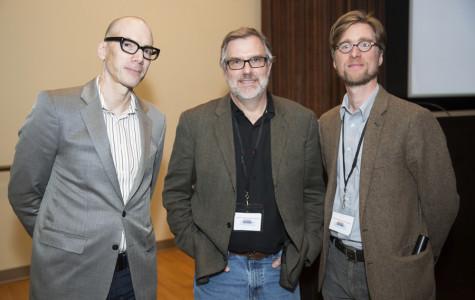 David Tolchinsky (left), Gary Rydstrom (center), Jacob Smith (right)