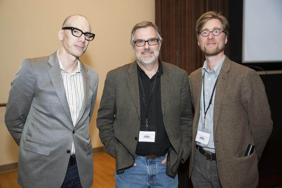 David Tolchinsky (left), Gary Rydstrom (center), Jacob Smith (right)