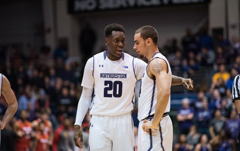 Men's Basketball: Northwestern struggles with Buckeye press in second-half collapse