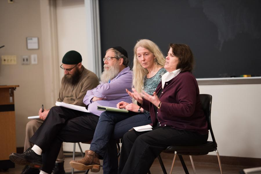 Four college religious leaders discuss the intersection of of sex, love and religion. SHAPE hosted the panel to spark dialogue about sexuality and religion on campus.