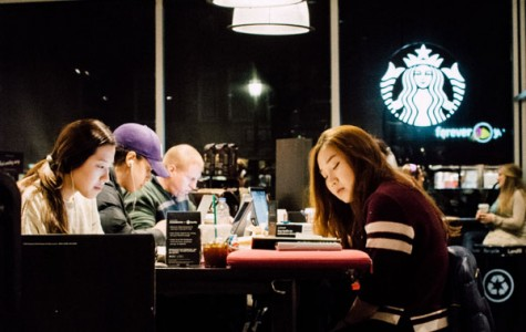 Best Place to Study: Starbucks on Sherman Avenue