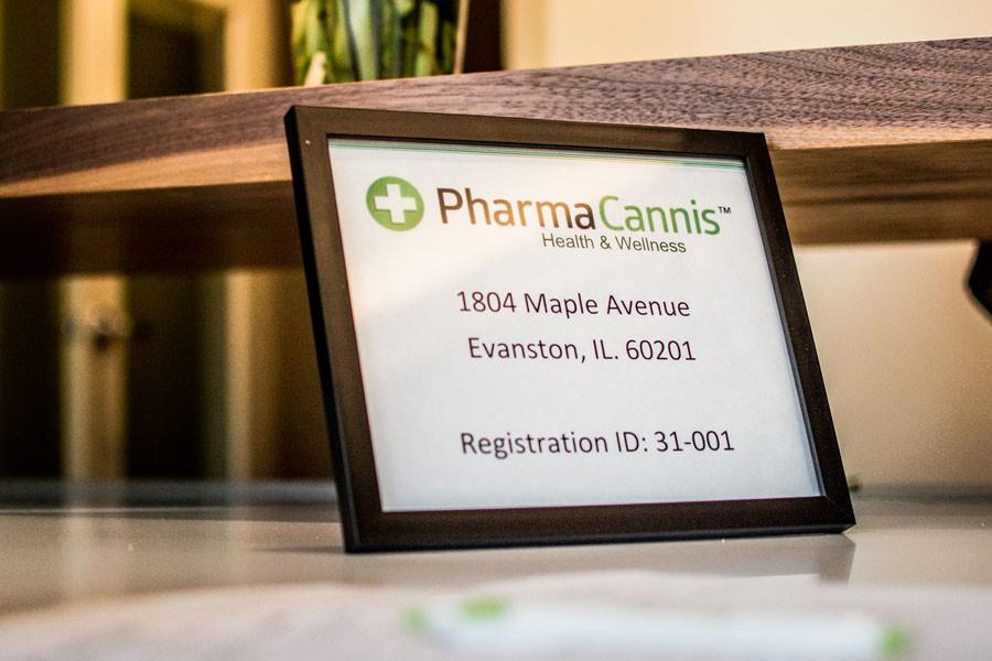 Pharmacannis%2C+1804+Maple+Ave.%2C+is+the+only+medical+marijuana+provider+in+Evanston.+Despite+some+state+reports+of+low+patient+enrollment+at+dispensaries%2C+a+Pharmacannis+employee+said+the+business+is+doing+well.