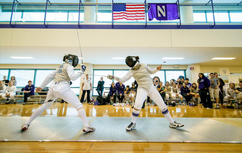 Fencing: Northwestern gears up for Junior Olympic tournament