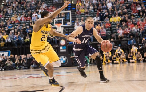 Men's Basketball: Loss to Michigan marks emotional end to positive season for Northwestern