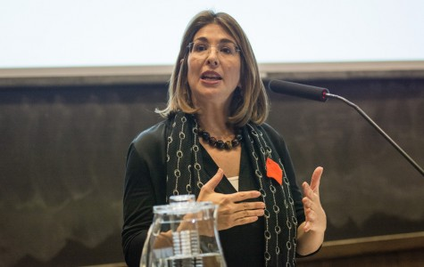 Author Naomi Klein discusses climate change, capitalism at Buffett Center event