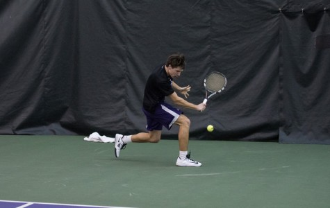 Men's Tennis: Northwestern wins three, drops one over busy Spring Break
